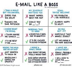 An Organized Chart For Emailing Like A Boss