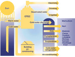 Energy Transformation Chart Ocean Thermal Energy Conversion Wikipedia