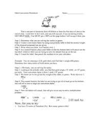 Mole Conversion Worksheet Mole Fraction Practice Worksheet