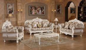 Traditional Living Room Sets 691 Serena Traditional Living Room Set In Pearl White By Meridian
