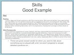 How To List Skills On A Resume Awesome Skills In A Resume How To Write Skills In Resume Great Skills For