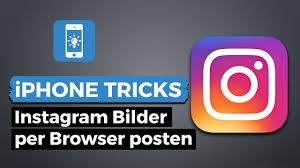 Instagram video posten pc