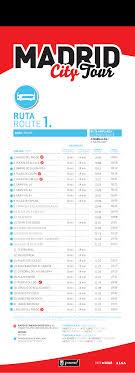 hopon hopoff tourist bus tours in madrid on a doubledecker bus
