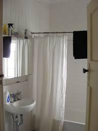 rounded shower curtain rod tween shower curtain restoration hardware shower curtain