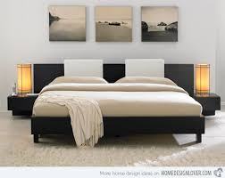 Amazing Bedroom Queen Bed Frame Headboard Solid Wood King Furniture In Low  Low Profile King Headboard Remodel ...