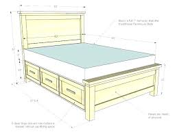 woodworking plans bed frame full size of adorable homemade bed frame woodworking plans with storage queen