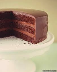 how to decorate a birthday cake martha stewart how to make ganache