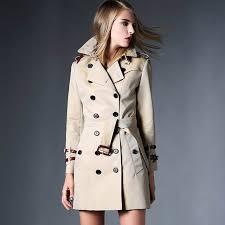trench coat 2017 fall fashion womens runway windbreakers clothing spring autumn duster women laslong wind coats