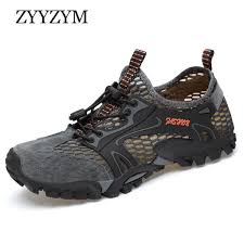<b>ZYYZYM Men Mesh</b> Casual Shoes Summer Adult Breathable Light ...