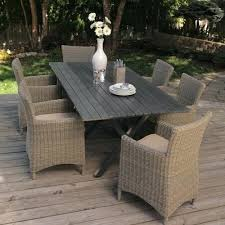 white wicker outdoor dining tables table set new best chairs sets inside 4 dini wicker outdoor dining chairs reclaimed teak trestle table