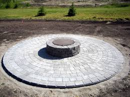 basic circle patio and firepit brick patios with fire pit10 pit