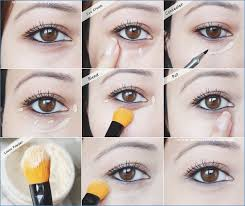 how to hide your dark circles during makeup how to hide under eye bags with