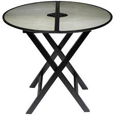 promemoria battista folding side table in reen at 1stdibs for plan 18