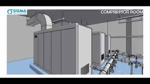 Air Compressor Room Design Compressor Room Designed Using Revit Mep By Sigma