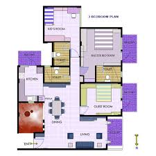 simple house design indian style plan and elevation