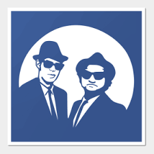 blues brothers wall art on blues brothers wall art with blues brothers wall art teepublic