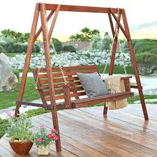 Porch stunning high back porch swing design How High Should A