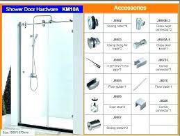 wonderful shower door replacement glass bathroom shower door parts bathroom shower door replacement sliding shower door