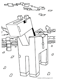 Minecraft Coloring Pages Herobrine Coloring Pages Coloring Pages