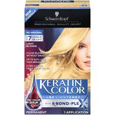 Amazon Com Schwarzkopf Keratin Color Care Lighteners