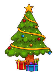 You can use this cute cartoon Christmas tree clip art on your personal or  commercial projects