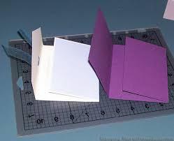 fold card handmade card idea how to make a unique tri fold card the