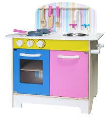pink blue wooden 25pc kitchen set inc accessories 253155