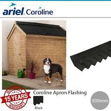coroline corrugated bitumen sheets a flashing