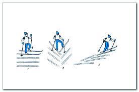 Урок лыжной подготовки в классе Торможение упором  подъем лесенкой
