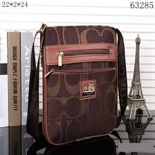 Coach Legacy Swingpack In Signature Large Brown Crossbody Bags 10010