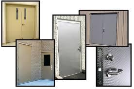 commercial security door. Steel Entry Doors, Commercial Security Industrial Swing Radiation Doors Door U