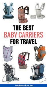 Ergo Baby Carrier Size Chart Best Baby Carriers For Travel Baby Can Travel