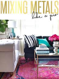 pink rugs for living room tips in mixing metals light rug