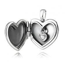 pandora pendant necklace gift heart cubic zirconia mother s day