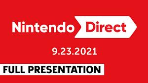 Nintendo Direct Full Showcase September 2021 - YouTube
