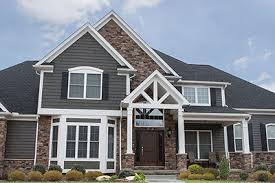 pictures of stone exterior on homes. exterior+fake+rock+siding | ohio home with exterior thin cut faux stone pictures of on homes