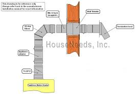 hot water heater vent. Brilliant Hot Example Of Horizontal Venting A Takagi Water Heater In Hot Vent U