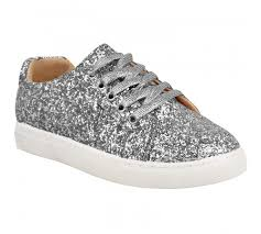 fashion thirsty womens lace up glitter sparkly sneakers trainers gym plimsolls fitness size zvljyzeyh