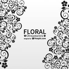 アンティーク花柄の自由ベクトルカード ベクター画像 無料ダウンロード