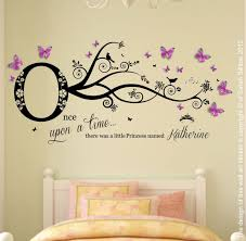 personalised name once upon a time princess wall art sticker girls bedroom 2 ebay on personalised wall art stickers quotes with personalised name once upon a time princess wall art sticker