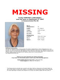 Missing Persons Posters Missing Persons Poster Templ With Missing Person Template Flyer 16