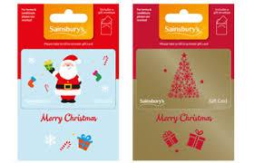 Gift Cards For Christmas Christmas Gift Cards Sainsburys Gifts