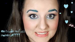 gertrude mcfuzz makeup tutorial