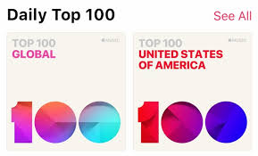 Top 100 Songs Top Charts Apple Rolls Out 116 Daily Top 100 Charts To Apple Music