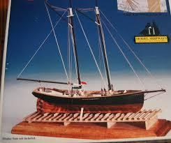 quality wooden ship model kit 1868 new york pilot schooner sealed parts model shipways usa