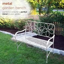 alpine corporation daisy metal garden