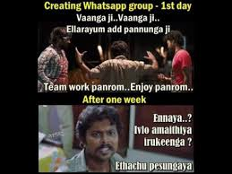 Creating Whatsapp Group - Tamil Memes via Relatably.com