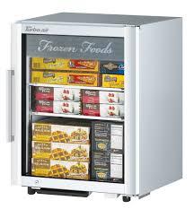 countertop glass door merchandising freezer