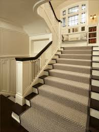 stair rug placed