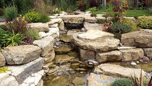 Small Picture Garden Waterfall Designs Landscape Garden Designers Reading